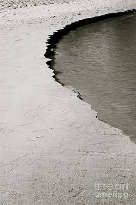 Black & White Shoreline Print by Kicka Witte - Printscapes