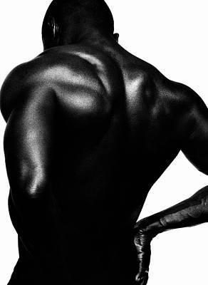 Body Art Photograph - Blackback by Sergio Bondioni