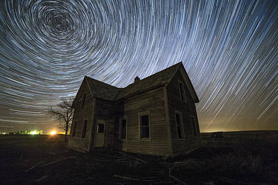 Abandoned Houses Photograph - Blackhole Sun by Aaron J Groen