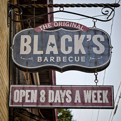 Texas Photograph - Blacks Barbecue #1 by Stephen Stookey