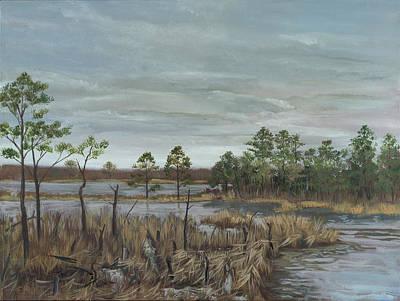 Edward Williams Painting - Blackwater National Wildlife Refuge by Edward Williams