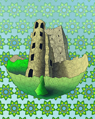 Blarney Castle Print by Dusty Conley