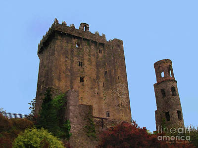 Potato Mixed Media - Blarney Castle by Jerry L Barrett