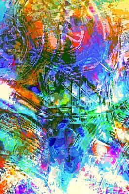 Bleached Vibrance Print by Tom Gowanlock