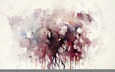 Tree Roots Painting - Bleeding Root by Rachel Christine Nowicki