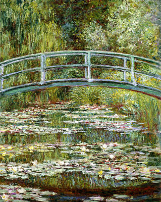Blend 11 Monet Print by David Bridburg