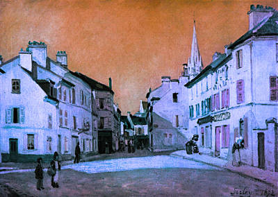 The Main Digital Art - Blend 15 Sisley by David Bridburg
