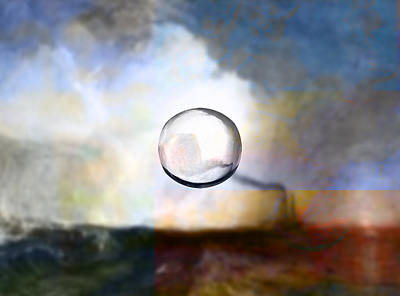 Blend Digital Art - Blend 8 Turner by David Bridburg