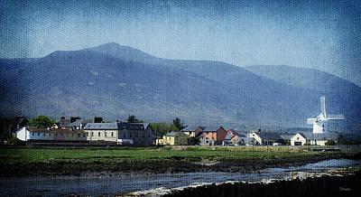 Blennerville Windmill Ireland Print by Teresa Mucha
