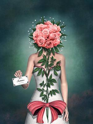 Blind Date Print by Britta Glodde