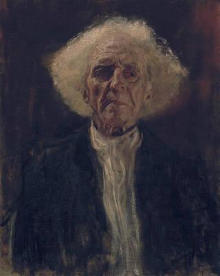 Blind Man Print by Gustav Klimt
