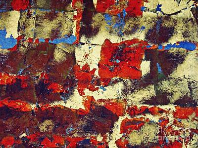 Contemporary Abstract Photograph - Blood In The Street by Sarah Loft