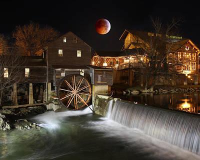 Blood Moon Arising Original by Bryan Nowak