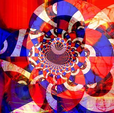 Yesayah Mixed Media - Bloodshot Eyes by Fania Simon