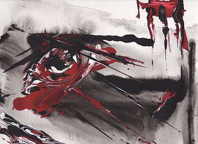 Bloody Eye Original by Rula Bashi