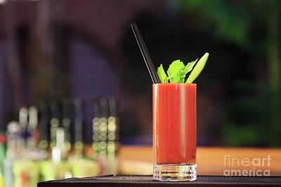 Bloody Mary Photograph - Bloody Mary Forever by Ekaterina Molchanova