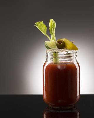 Bloody Mary Photograph - Bloody Mary by Jessica Polk