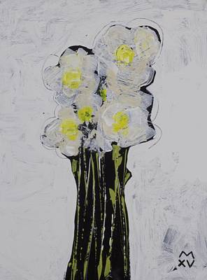 Abstract Expressionist Painting - Bloom No. 4 by Mark M  Mellon