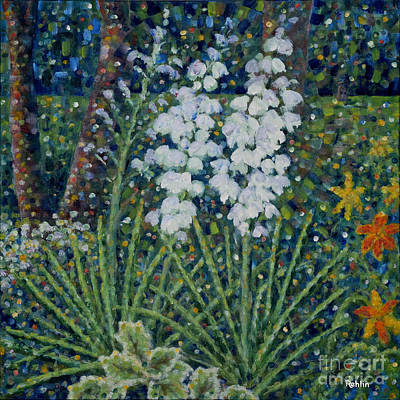 Blooming Yucca Original by Jim Rehlin