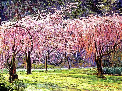 Blossom Fantasy Print by David Lloyd Glover
