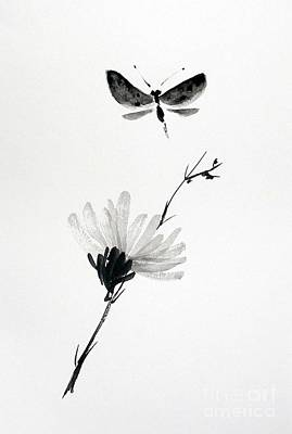 Blossomfly Print by Sibby S