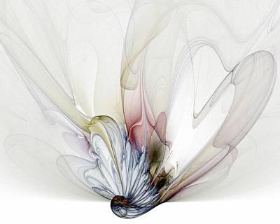 Apophysis Digital Art - Blow Away by Amanda Moore