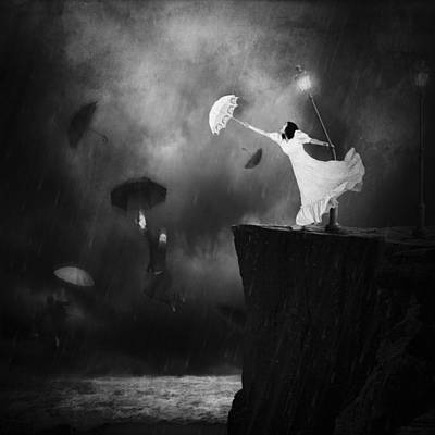Manipulation Photograph - Blowin' In The Wind by Erik Brede