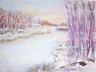 Painting - Blowing by Mary Sedici