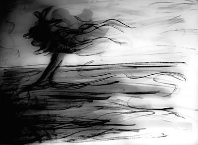 Windblown Painting - Blown by Artsy Gypsy