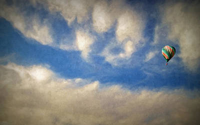 Upscale Digital Art - Blown Into A Soft Sky by Glenn McCarthy Art and Photography