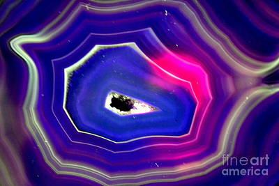Stein Mixed Media - Blue Magic by Angelika Heidemann