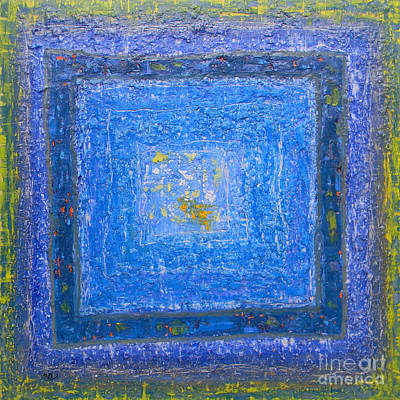 Painting - Blue by Adel Nemeth