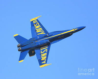 Blue Angels No.4 Print by Wingsdomain Art and Photography