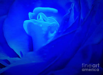 Blue Flowers Photograph - Blue By You by Krissy Katsimbras