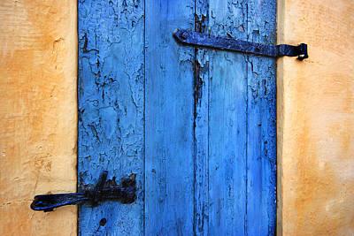 Blue Door Print by Robert Lacy