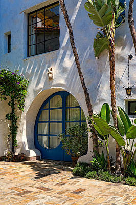 Canon 6d Photograph - Blue Door by Thomas Hall Photography