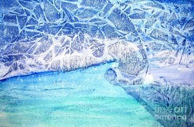 Blue Escape Original by Randie Lee