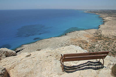Phthalo Green Photograph - Blue Eye Of Cyprus  by Clay Cofer