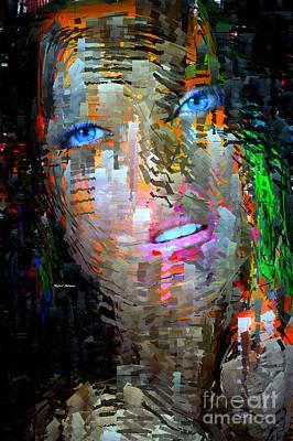 Blue Eyes  Print by Rafael Salazar