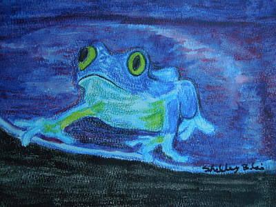 Blue For You Original by Shelley Blair