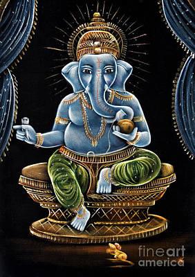 Shri Ganesha Print by Tim Gainey