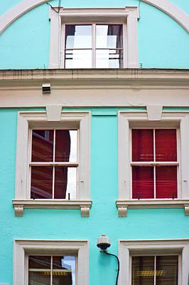 Bohemian Photograph - Blue House by Tom Gowanlock