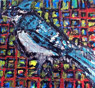 Blue Jay Original by Charles Long
