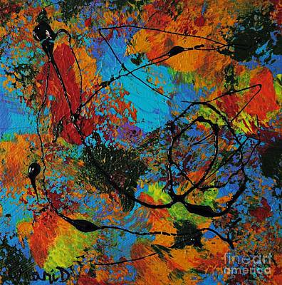Blue Lagoon Original by Chani Demuijlder
