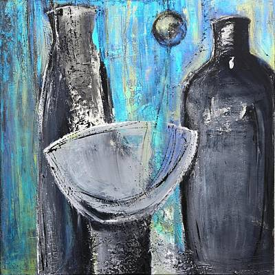 Blue Life Print by Art Ilse  Schill