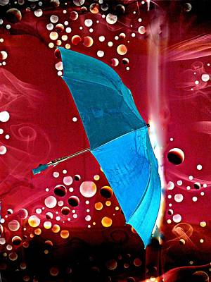 Blue Magic Print by Marcia Lee Jones