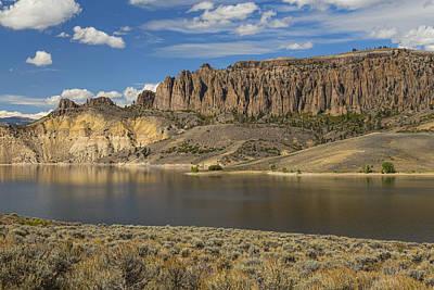 Blue Mesa Dillon Pinnacles  Print by James BO  Insogna