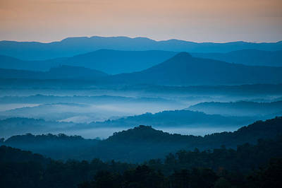 Asheville Artist Photograph - Blue Morning by Joye Ardyn Durham
