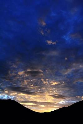 Photograph - Blue Mountain Sunrise  by Crystal Magee