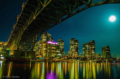 Long Exposure Photograph - Blue Night by Trevor Buchan